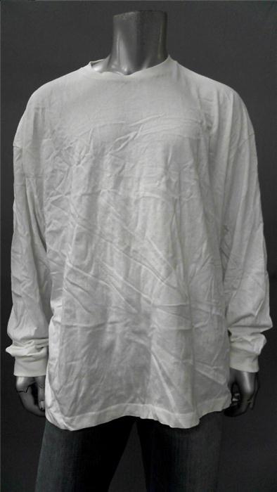 Foot Locker Mens Big & Tall 3XL White Comfort Basic T Shirt Tee Long